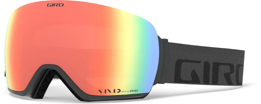 Giro Article Vivid Ember Ski/Snowboard Goggles L Grey WordMark -