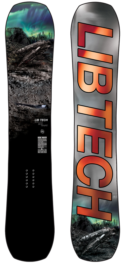 Lib Tech Box Knife Hybrid Camber Snowboard, 160cm Wide 2020