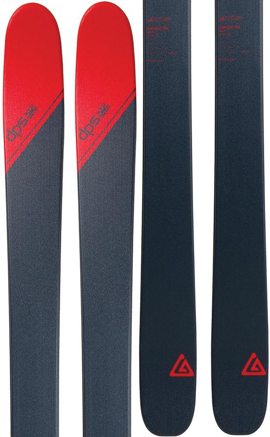 DPS Cassiar 95 Tour1 Skis, 168cm Grey/Red