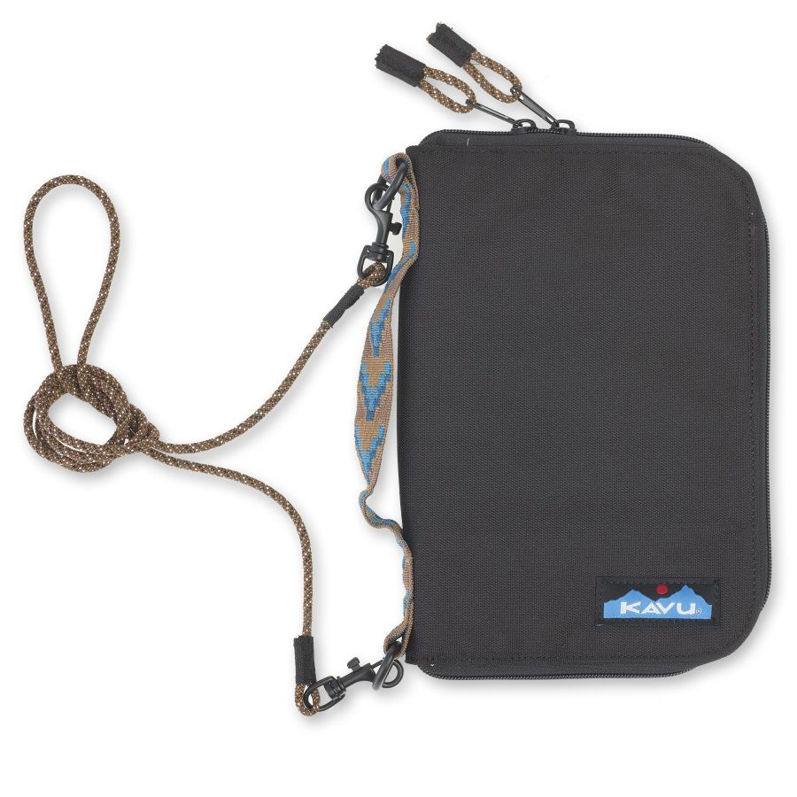 Kavu Jet City Bi-Fold Wallet Case Jet Black