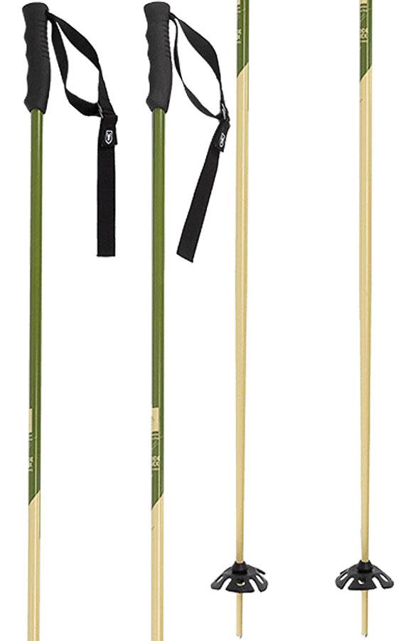 Faction Candide Thovex Pair Of Ski Poles, 110cm Khaki/Beige