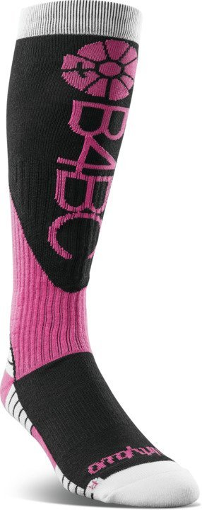 thirtytwo B4BC Merino Womens Snowboard/Ski Socks, L/XL Black
