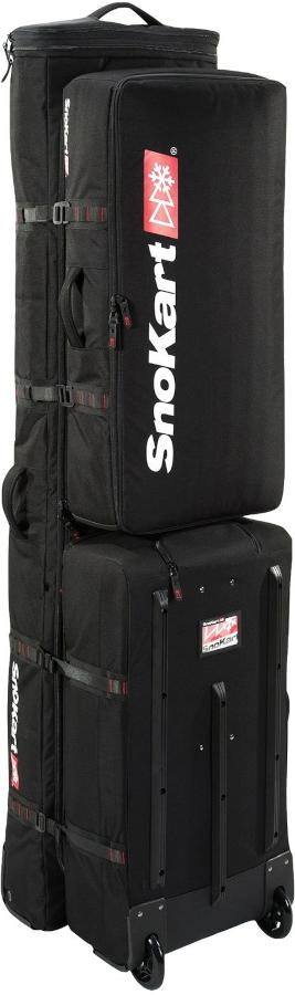 SnoKart The Kart 6 Multi-Use Ski/Snowboard Bag 190cm Black