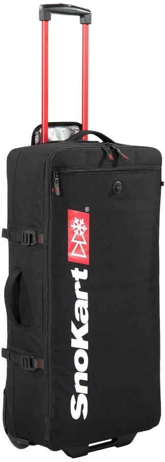SnoKart Kargo 60 Roller Travel Bag/Suitcase, 60L Black