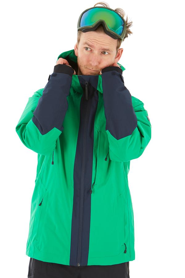 Peak Performance Rider Ski Insulated Snowboard/Ski Jacket L Jelly Bean
