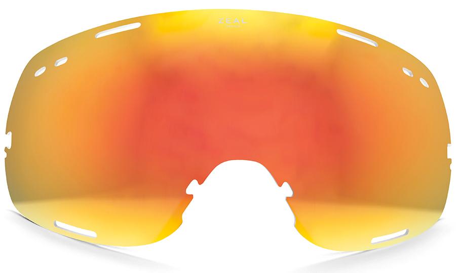 Zeal Fargo Snowboard/Ski Goggle Spare Lens, One Size, Phoenix Mirror