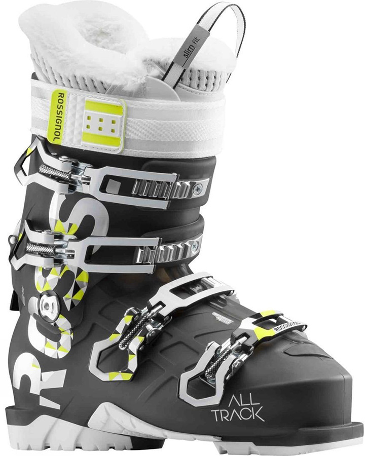 Rossignol Alltrack Pro 100 W Womens Ski Boots 23/23.5 Light Black 2019