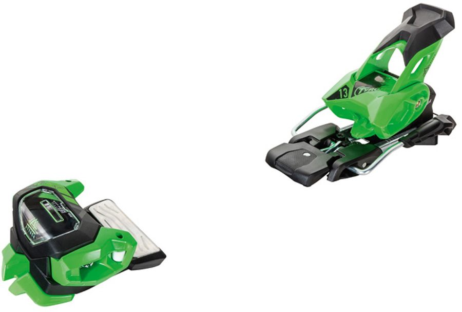 Tyrolia Attack² 13 GW Ski Bindings, 110mm Green