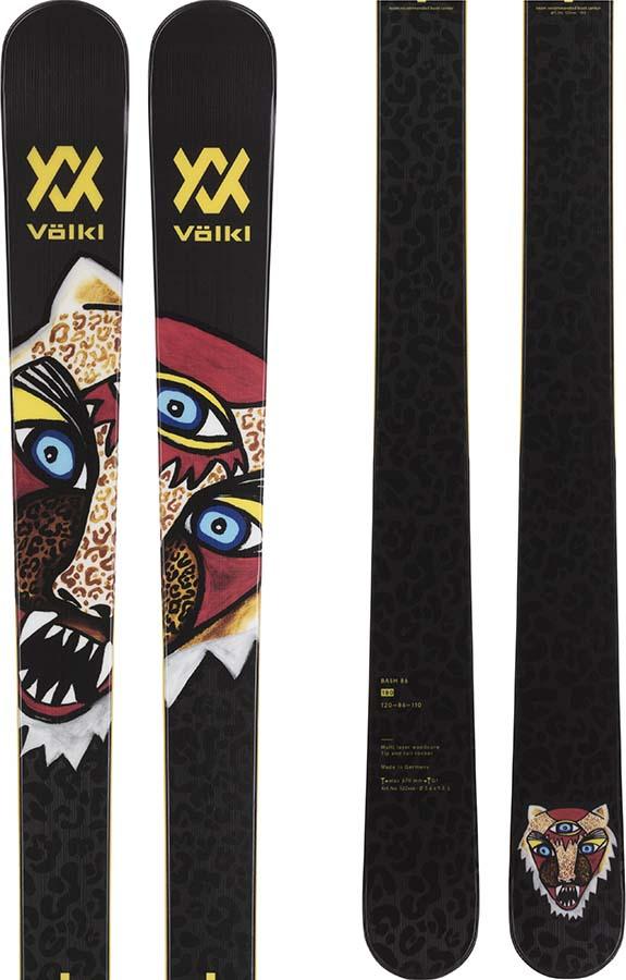 Volkl Bash 86 Skis Only, 172cm Black 2021