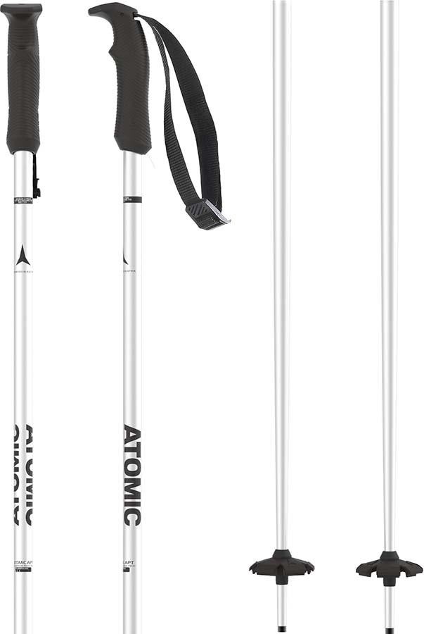 Atomic AMT Ski Poles, 115cm White
