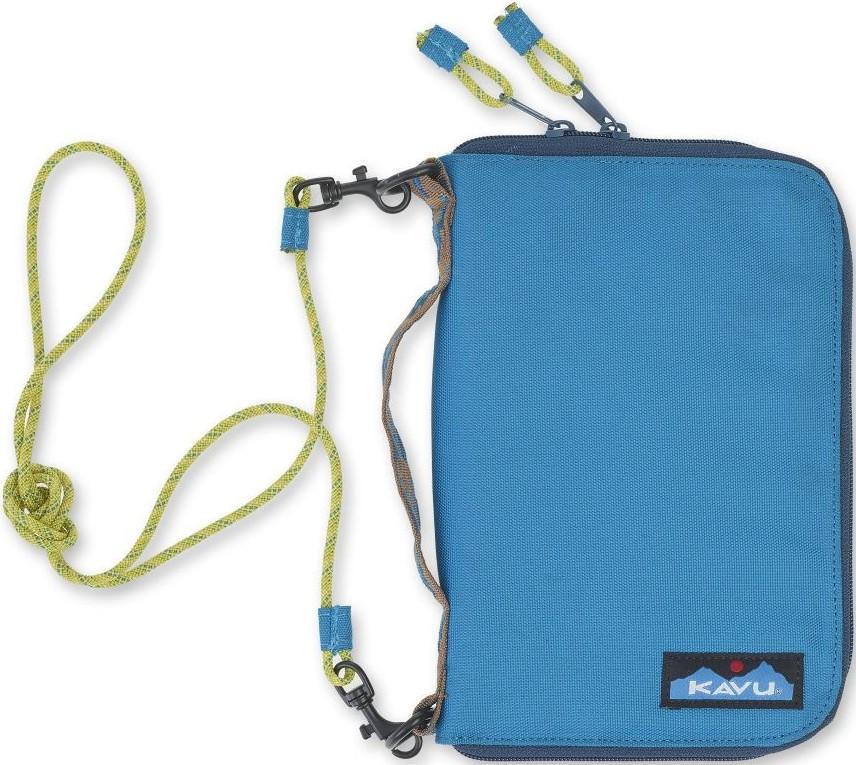 Kavu Jet City Bi-Fold Wallet Case Skydive Blue