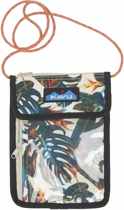 Kavu Keepitclose Neck Wallet/Passport Holder Island Canopy