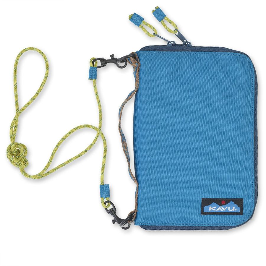 Kavu Jet City Bi-Fold Wallet Case Skydive Blue
