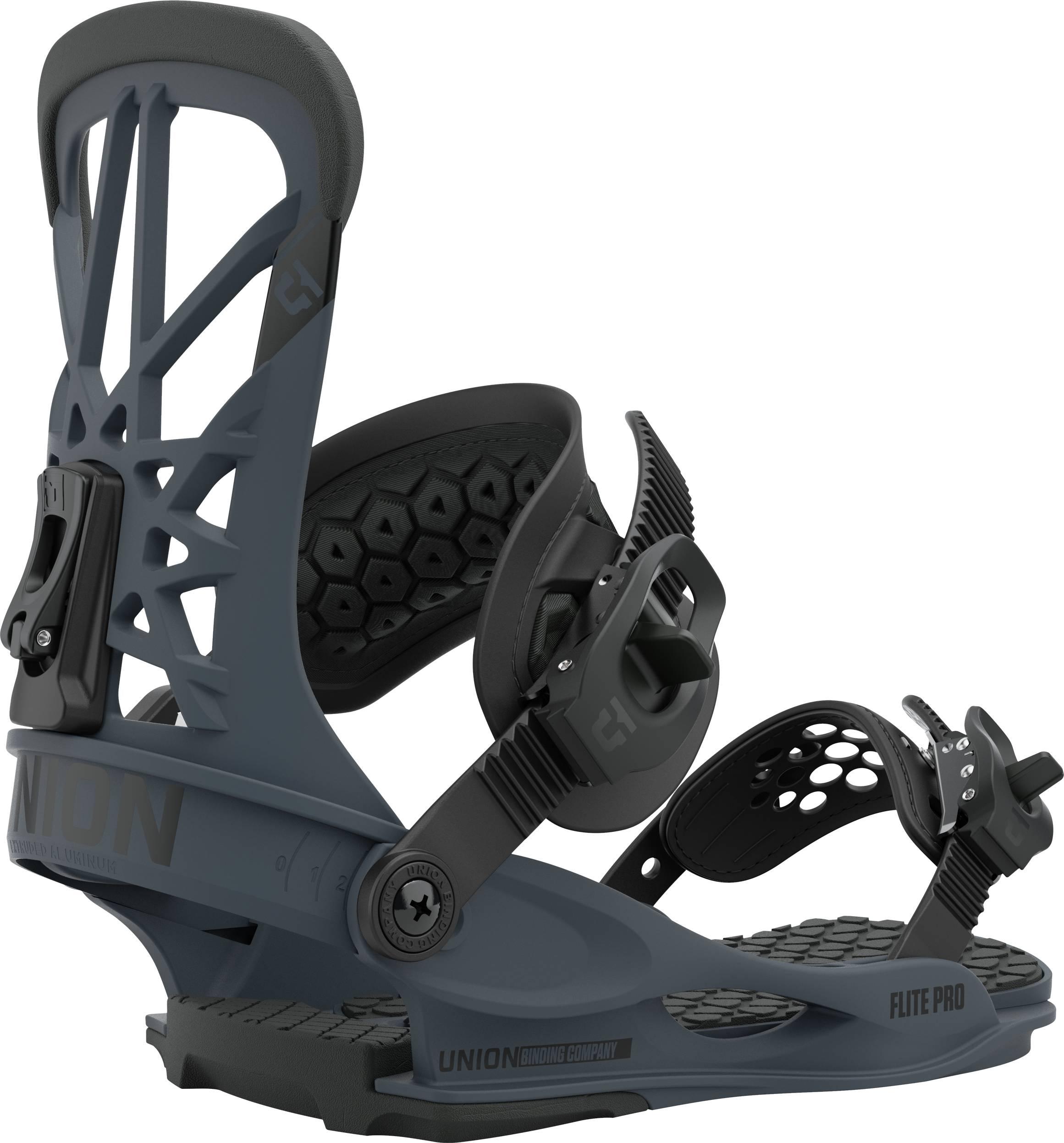 Union Flite Pro Snowboard Bindings, M Dark Grey 2021