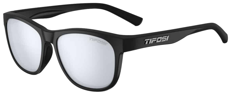 Tifosi Swank Sunglasses, Satin Black/Smoke
