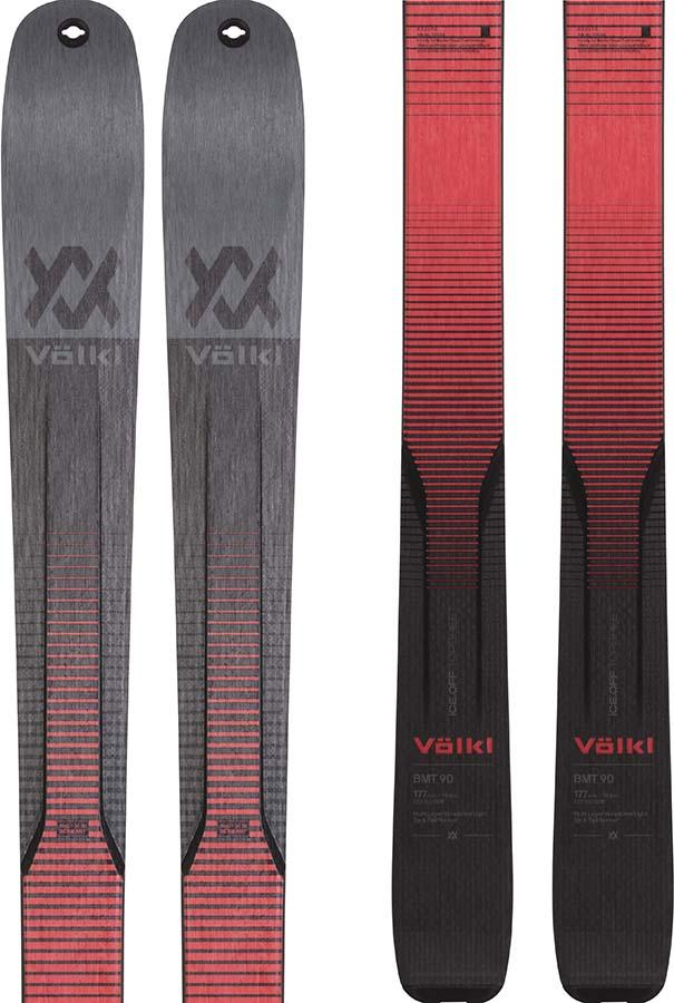 Volkl BMT 90 Ski Only Skis, 177cm Grey/Red 2021