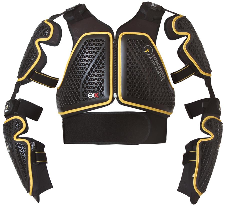 Forcefield EX-K Harness Adventure L2 Spine Guard L Black/Yellow