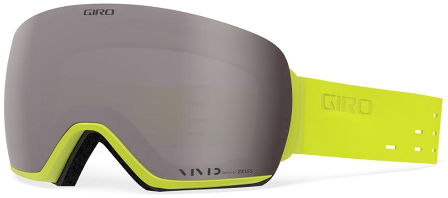 Giro Article Vivid Onyx Ski/Snowboard Goggles, L Silicone Citron