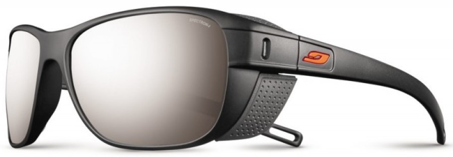 Julbo Camino SP4+ Trekking Sunglasses, OS Black/Orange