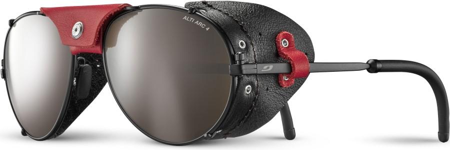 Julbo Cham Alti Arc 4 Mountaineering Sunglasses, OS Black/Red