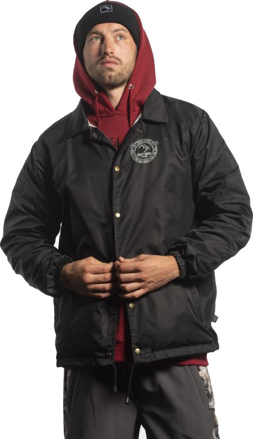 Brethren Apparel Coach Ski/Snowboard Jacket L Black