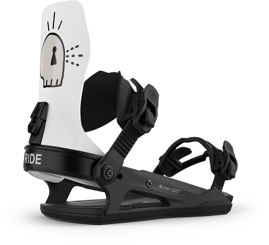 Ride C-6 Snowboard Bindings, L Trouble 2021