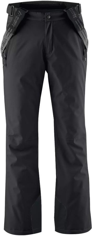 Maier Sports Anton 2 Long Snowboard/Ski Pants, L Black