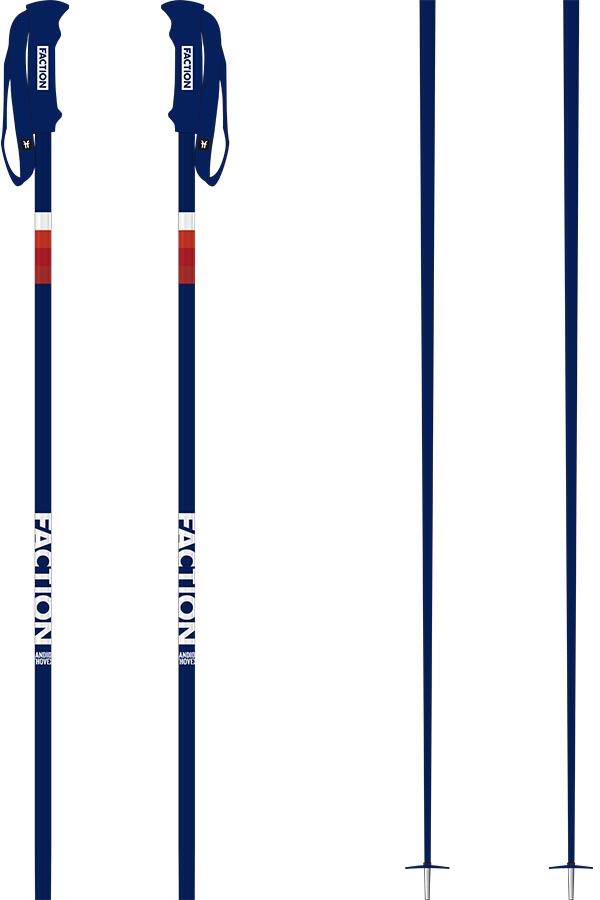 Faction Candide Thovex Pair Of Ski Poles, 110cm Blue