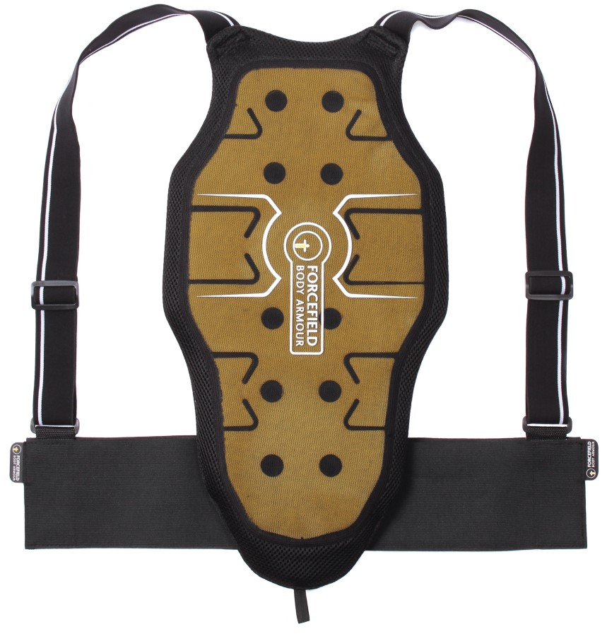 Forcefield Freelite L2 Back Protector, L Black/Yellow