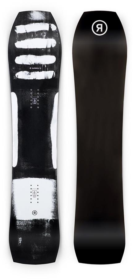 Ride SuperPig Hybrid Camber Snowboard, 148cm 2021