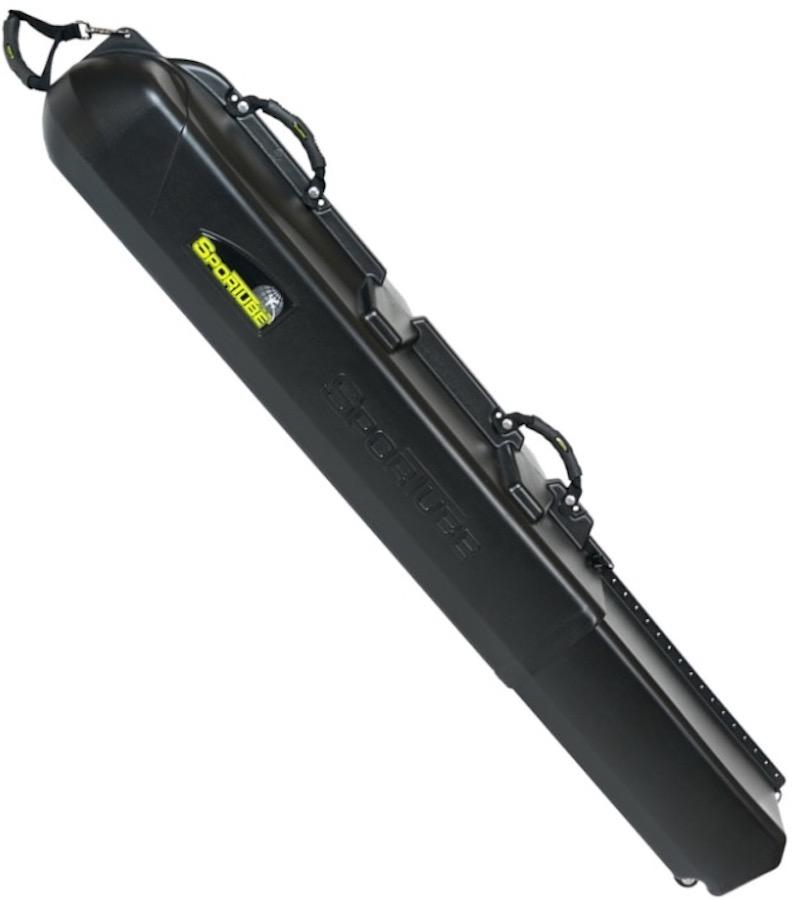 Sportube Series 3 Ski/Snowboard Travel Case, 107cm-183cm Black