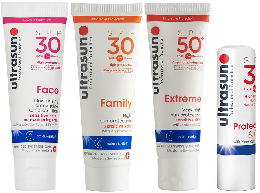 Ultrasun Discovery Pack Essentials Sunscreen Travel Kit