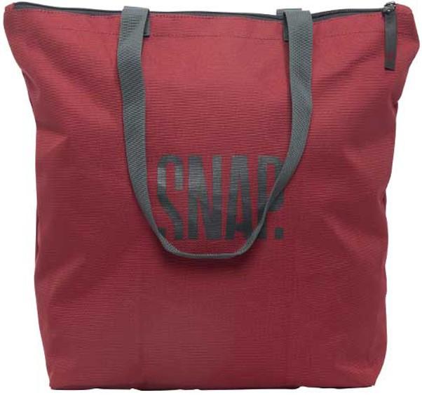 Snap Gym Tote Packable Bag, 15L Burgundy