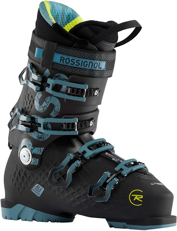 Rossignol Alltrack 110 Ski Boots, 26/26.5 Black/Steel Blue 2021