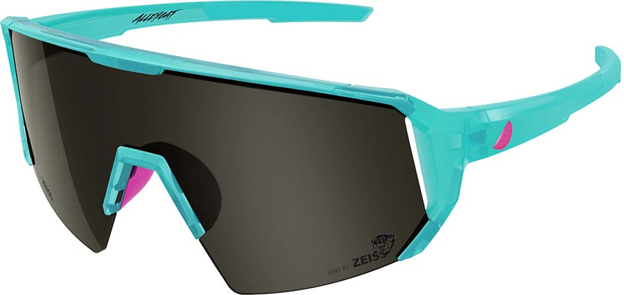 Melon Alleycat Smoke Performace Sunglasses, Turquoise/ Neon Pink