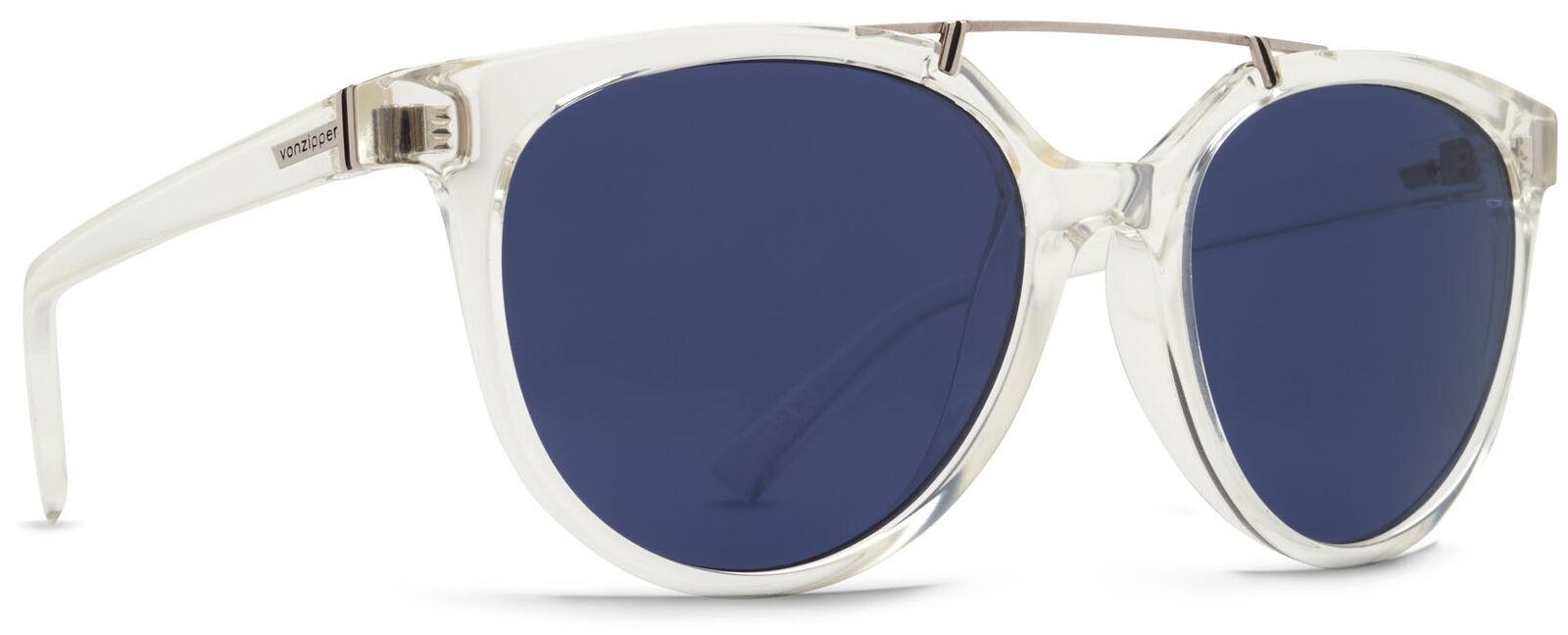 Von Zipper Hitsville Navy Lens Sunglasses, Crystal Gloss