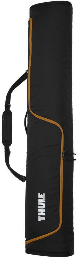 Thule RoundTrip Single Carrier Snowboard Bag, 165cm Black Gold