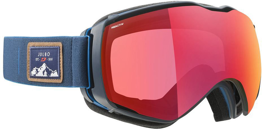 Julbo Aerospace Reactiv All Around 2-3 Snowboard/Ski Goggles, L Blue