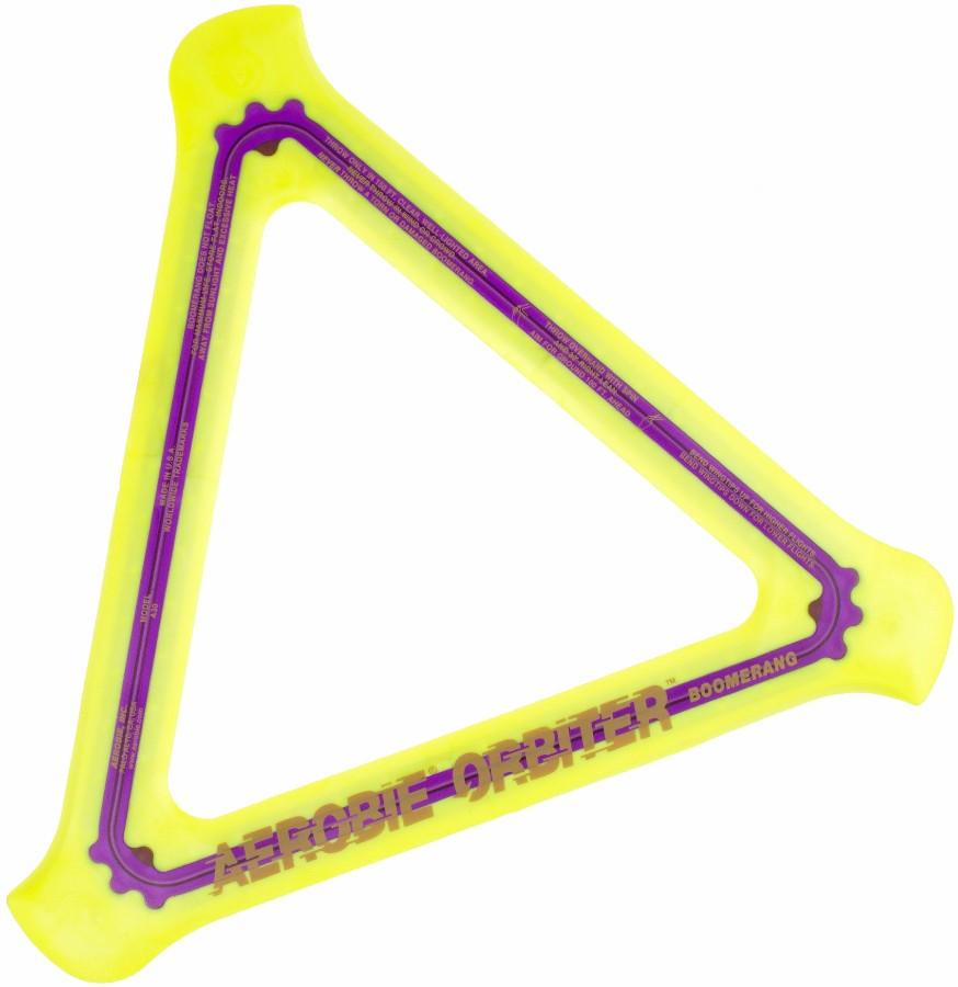 Aerobie Boomerang Orbiter, O/S Yellow