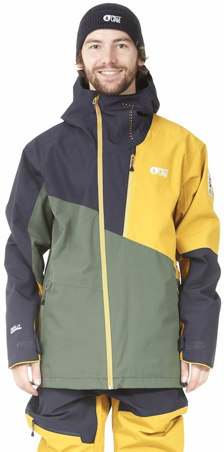 Picture Alpin Ski/Snowboard Jacket, L Lychen Green