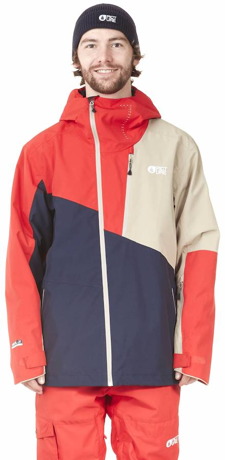 Picture Alpin Ski/Snowboard Jacket, L Dark Blue