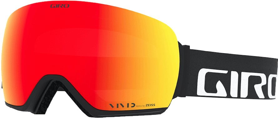 Giro Article Vivid Ember Ski/Snowboard Goggles L Black WordMark