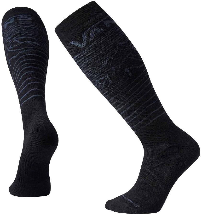 Smartwool PhD® Snow Vans Bryan Iguchi Medium Snowboard Socks L Black