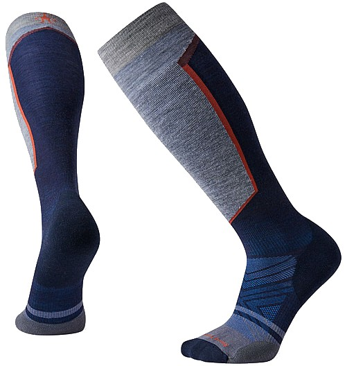 Smartwool PHD Ski Light Elite Ski Socks, L Deep Navy