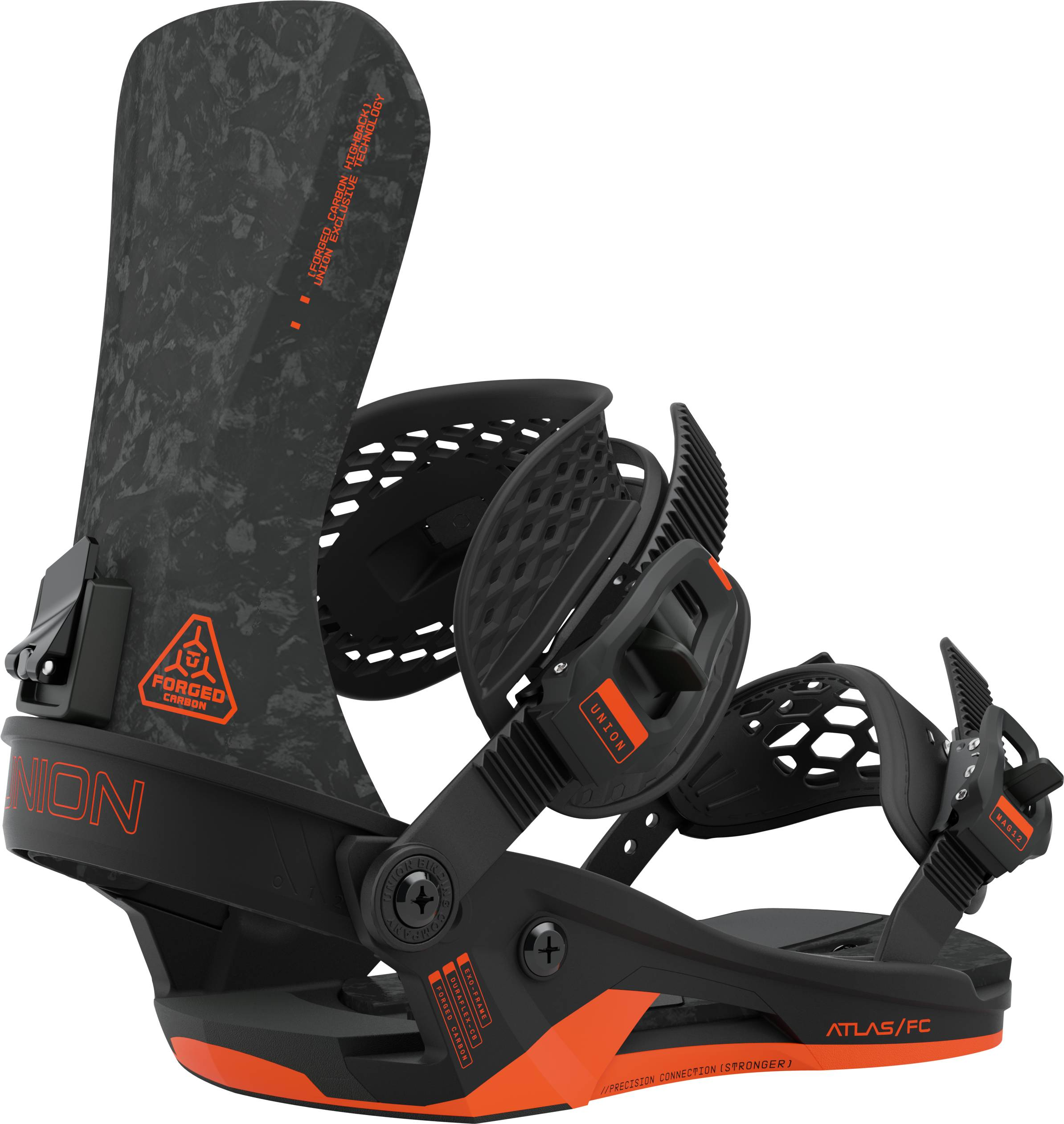 Union Atlas FC Snowboard Binding, M Black 2021