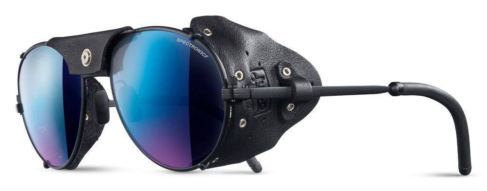 Julbo Cham SP3+ Mountaineering Sunglasses, Matt Black