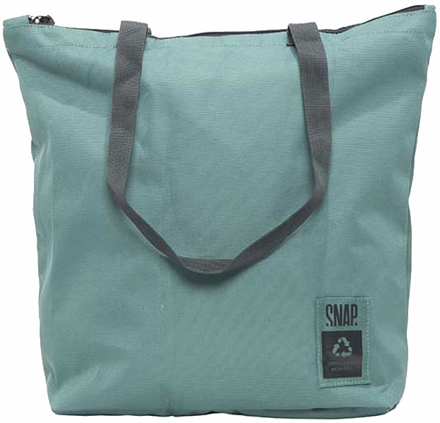 Snap Gym Tote Packable Bag, 15L Green