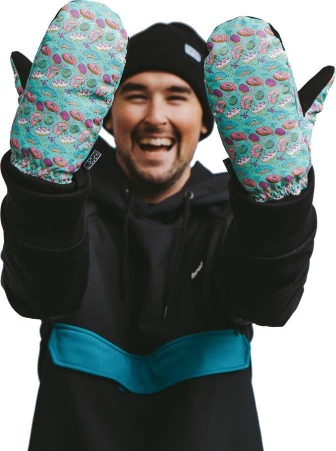 bro! Bronuts Ski/Snowboard Mittens, L/XL