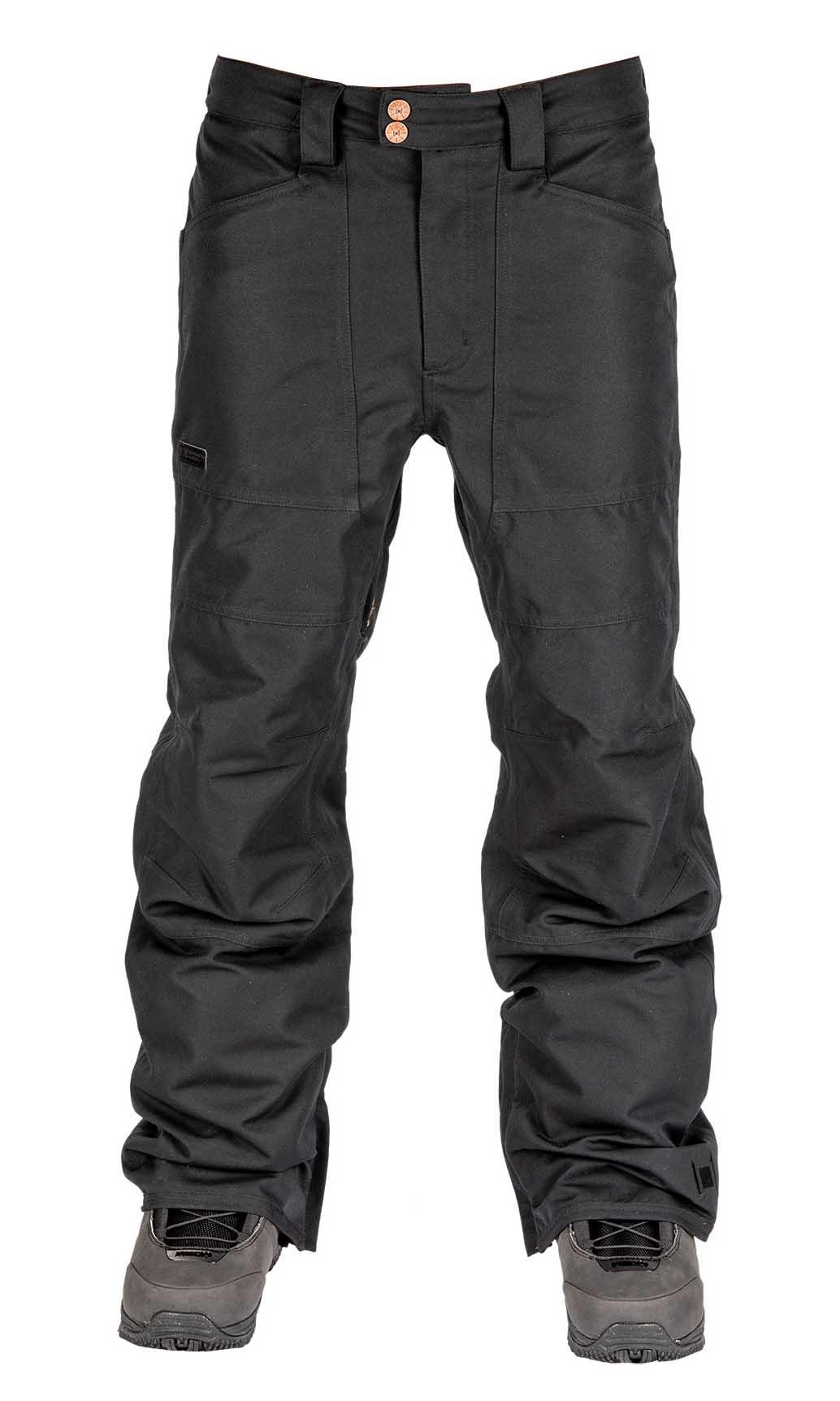 L1 Premium Goods Americana Ski/Snowboard Pants, S Black