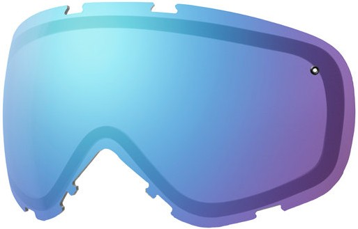 Smith Cadence Ski/Snowboard Goggles Spare Lens Blue Sensor Mirror